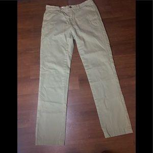 Life after denim green Khaki pants - 29x29